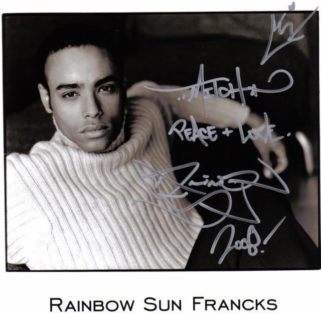 Rainbow Francks - Images Gallery