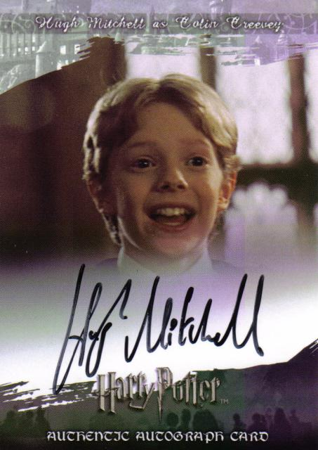 hugh played colin creevey in the harry potter series he