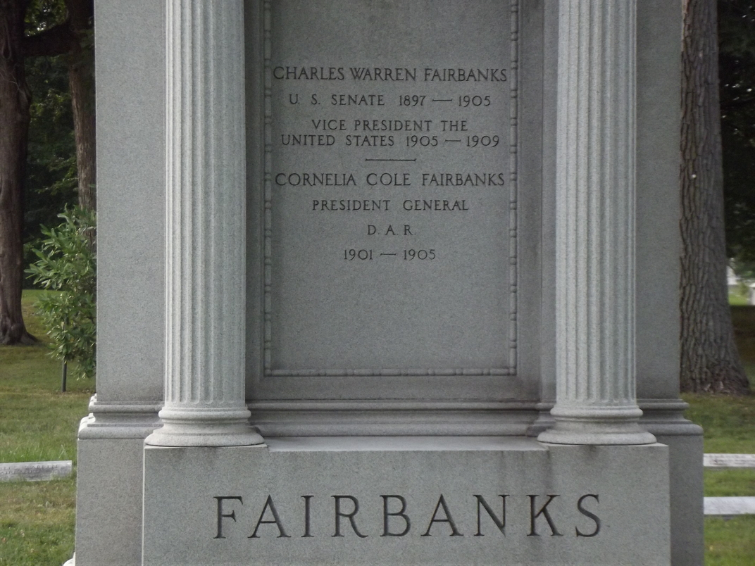 charles w fairbanks Above and below each man, respectively, is for president theodore roosevelt  of new york and for vice president charles w fairbanks of indiana.